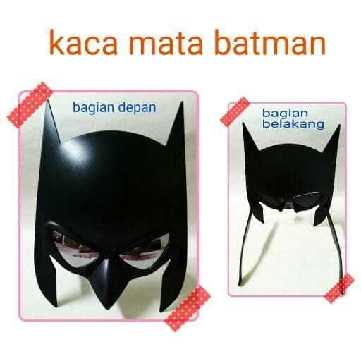 harga Kacamata kaca mata item hitem gaya unik lucu photobooth batman Tokopedia.com