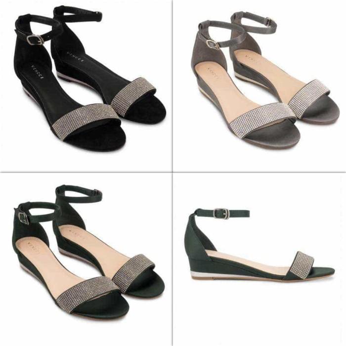 harga Sepatu wedges vincci ori murah   sale vnc wedges shoes original  Tokopedia.com 7e96916de2