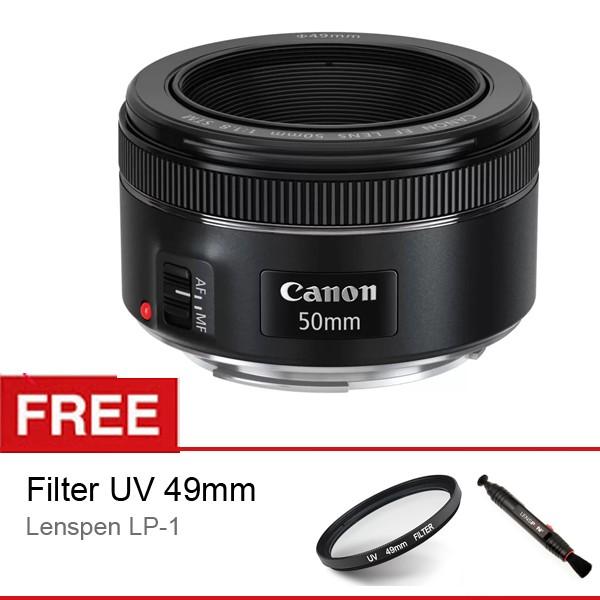 harga Canon lens ef 50mm f/1.8 is stm lensa garansi resmi datascrip Tokopedia.com
