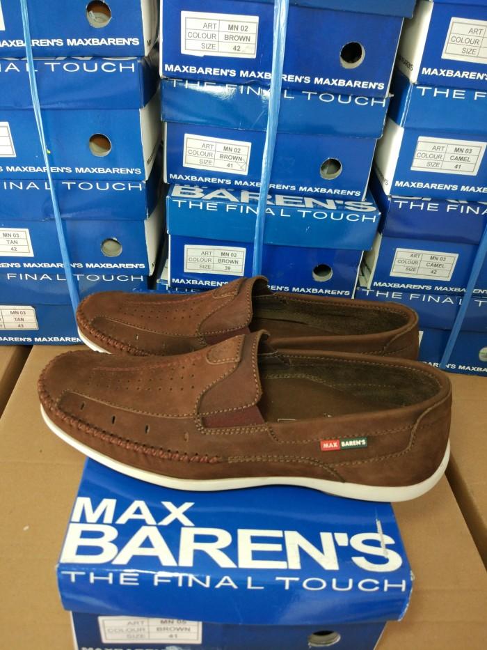 harga Max barens sepatu kulit pria mn 05 brown Tokopedia.com