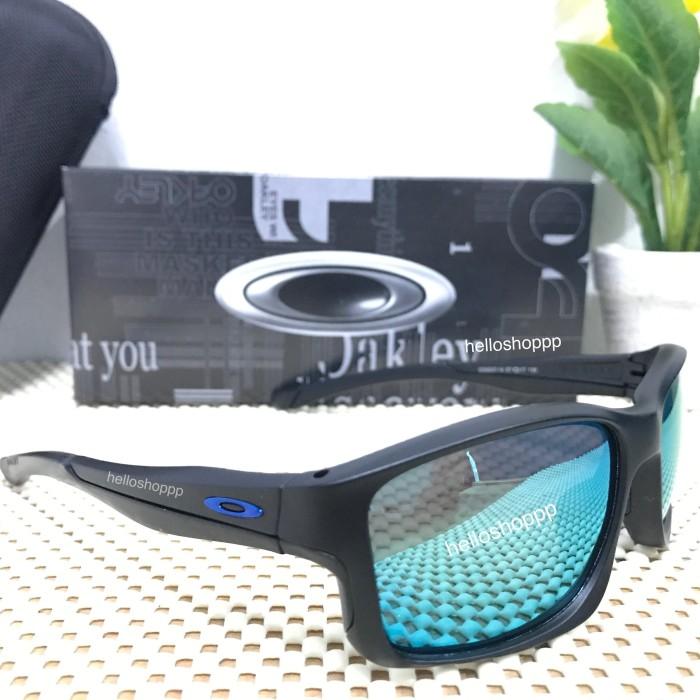 Jual Kacamata Oakley Chainlink frame hitam lensa biru muda polarized ... 23669f22cc