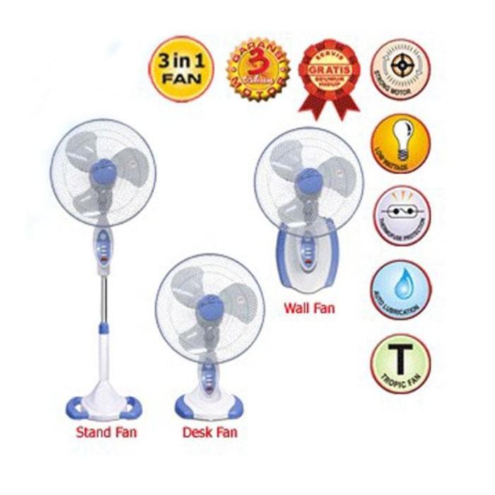harga Stand fan/kipas angin berdiri 3in1 remote maspion f 1623 rc Tokopedia.com