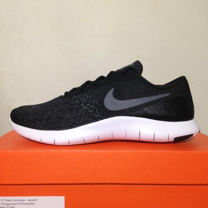 Jual Sepatu Running Lari Nike Flex Contact Black Dark Grey 908983 ... d232daa2c1