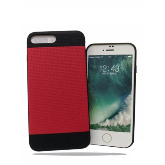 Joweis Hard Case Casing Cover Matte With Magnet For IPHONE 7 PLUS RED