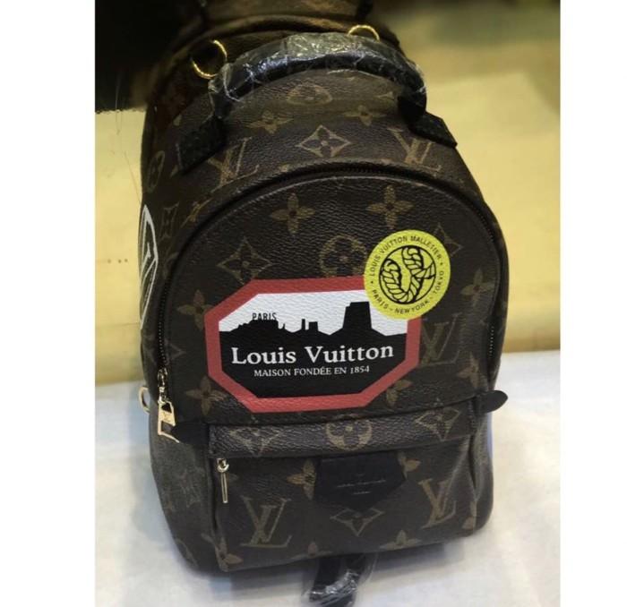 Jual New Lv Palm Spring Backpack Mini World Tour Monogram Jakarta Utara Sakkishop Tokopedia