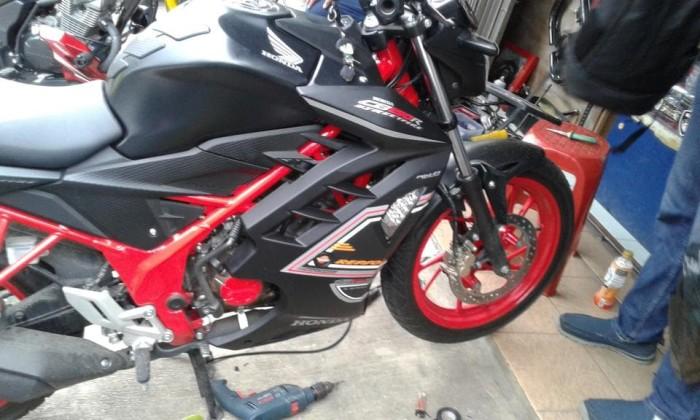 harga Half fairing new cb150r model ninja hitam doof 1 ulasan Tokopedia.com
