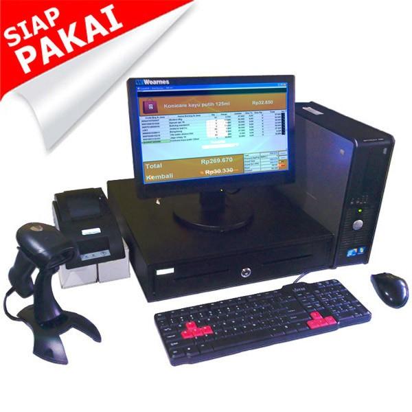 Foto Produk Paket Kasir | PC Kasir | Komputer Kasir | Mesin Kasir - Fullset_1 dari Toko Software Kita