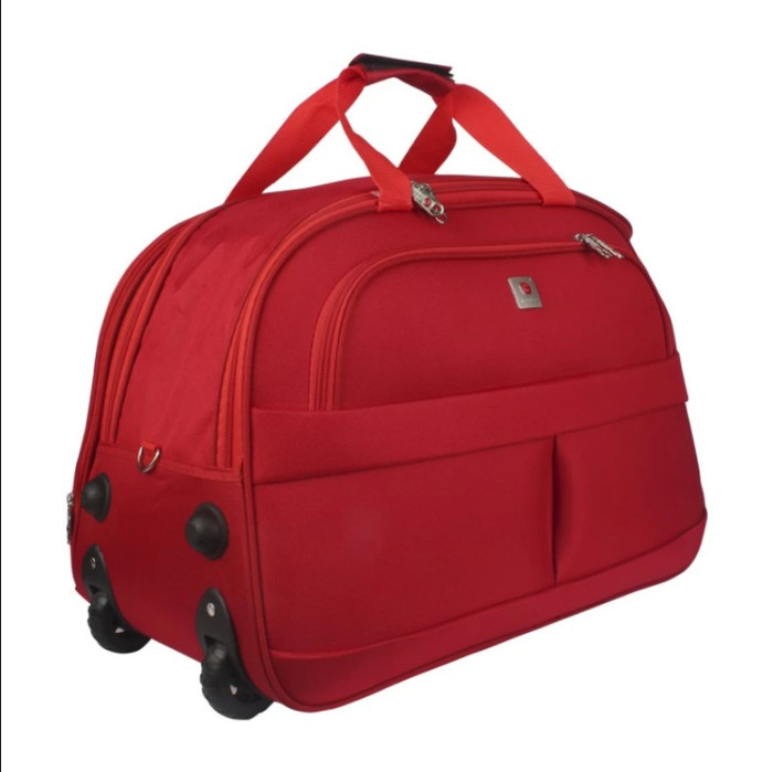 Jual Polo Classic JS1002-35 Travel Bag Trolley 18   21in - Red ... a005a3d19179d
