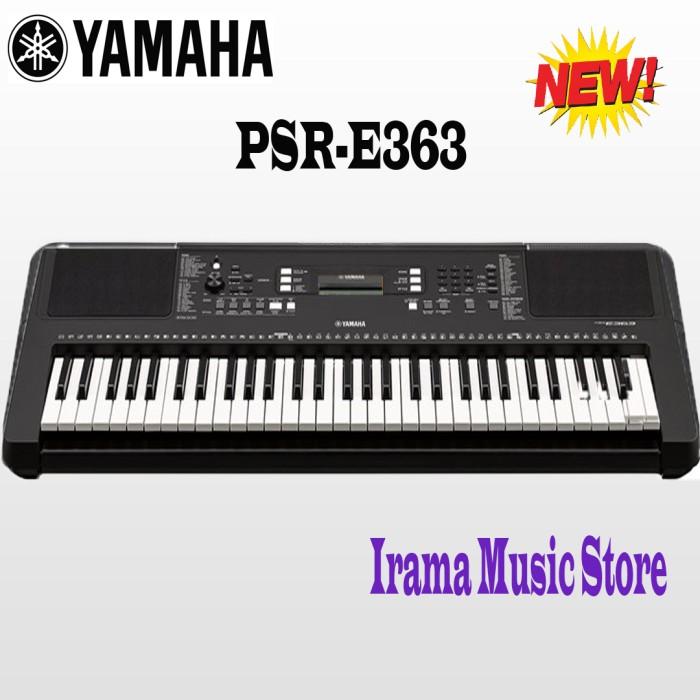 harga New ! keyboard yamaha psr 363 psr363 psre e psre363 penerus 363 psr353 Tokopedia.com