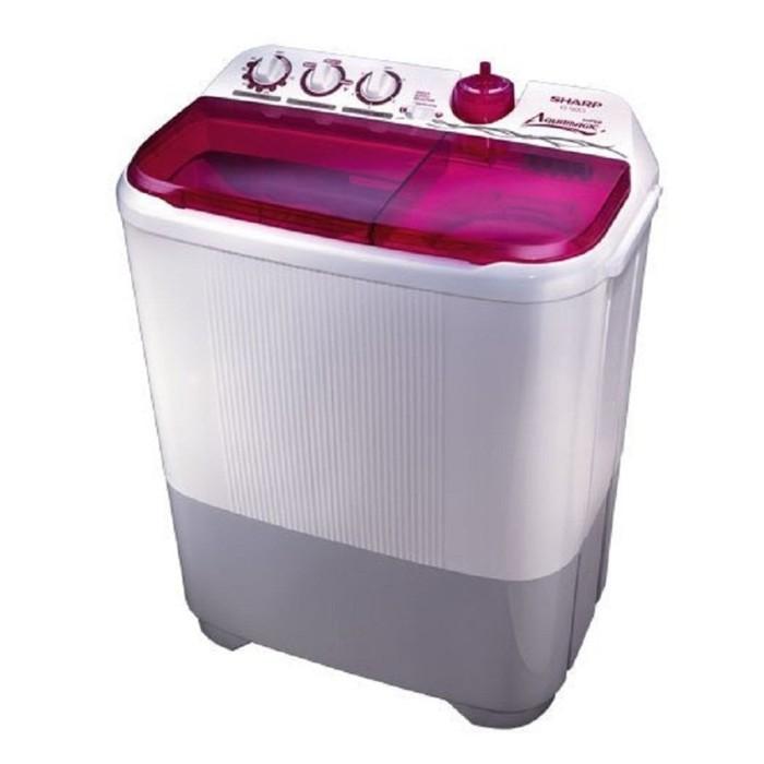 harga Sharp mesin cuci es-t95 cr 9 kg low watt super aquamagic anti karat Tokopedia.com