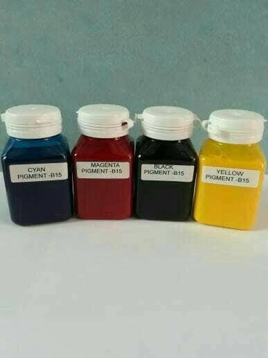 harga Tinta pigment printer inkjet epson 100ml tidak luntur Tokopedia.com