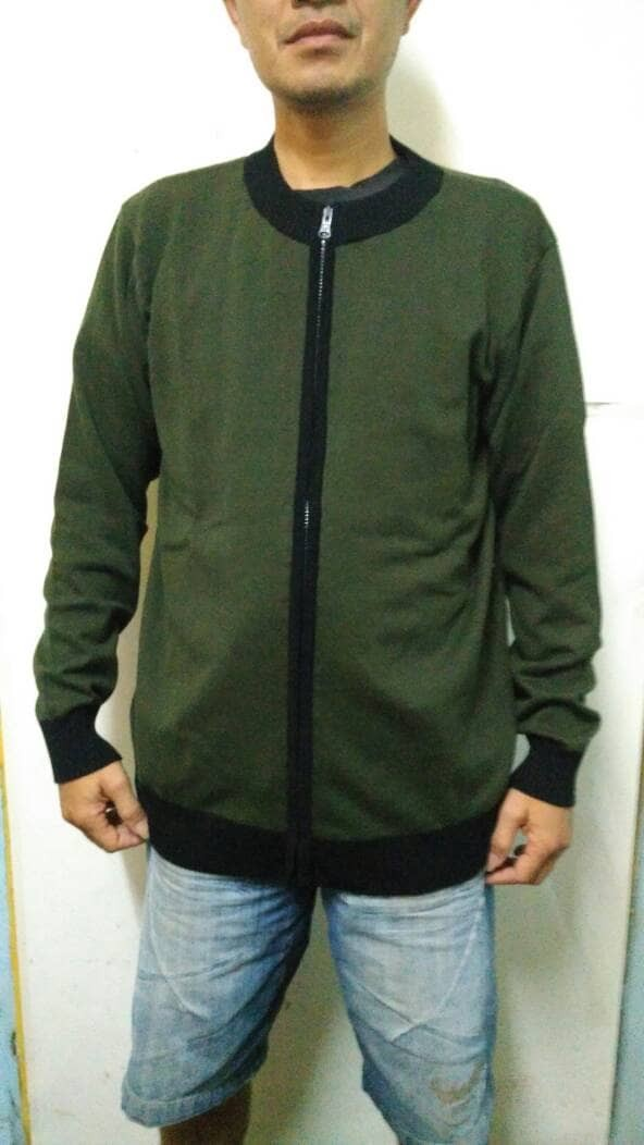Jaket/sweater/outerwear pria tipe bomber
