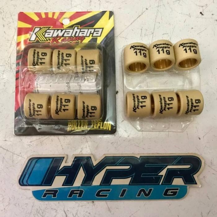 Foto Produk Roller Kawahara Racing Piaggio Vespa 11 Gram / 11G dari HYPER RACING