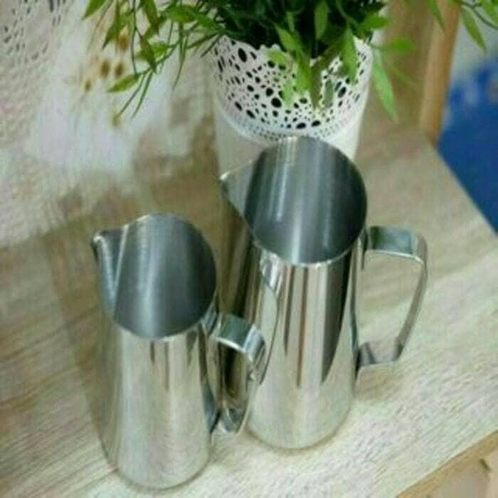 harga Profesional milk jug 1000ml stenlis teko flothing pembuih susu flother Tokopedia.com