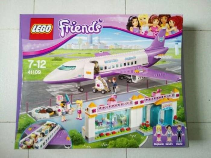 Jual Mainan Kreatif L E G O Friends 41109 Heartlake Airport Peypoo