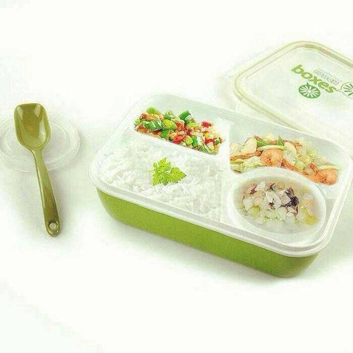 Tempat bekal   kotak makan   lunch box yooyee 4 sekat
