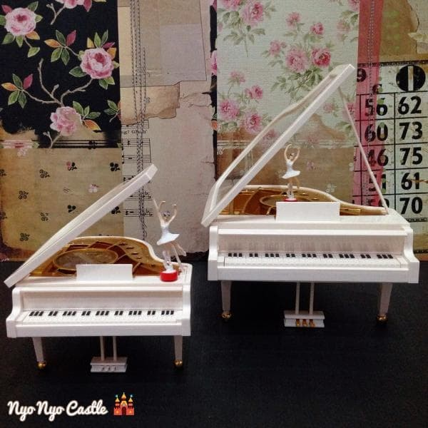 Music Box (Kotak Musik) Classic Piano + Ballerina (Balet) Small
