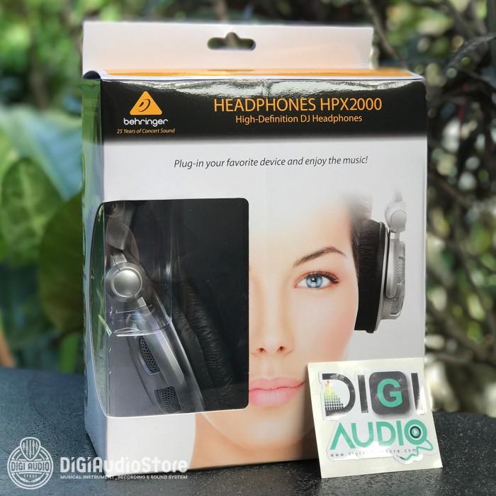 42b8aa18865 Jual Behringer HPX2000 ( HPX 2000 ) DJ Headphone - Kota Bandung ...