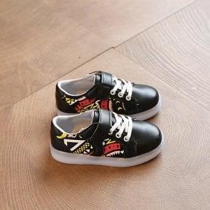 harga Walker shoes sepatu led hitam bayi anak Tokopedia.com