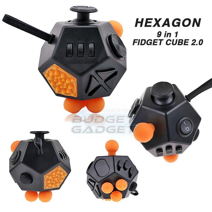 Foto Produk Hexagon Fidget Cube 2.0 Mainan Anti Stress dari BudgetGadget