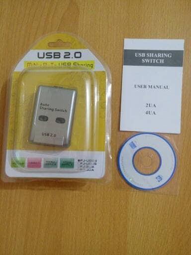 harga Usb data switch auto 2 port (sharing switch printer auto 2 port) Tokopedia.com