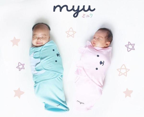 Myu baby wrap bedong bayi