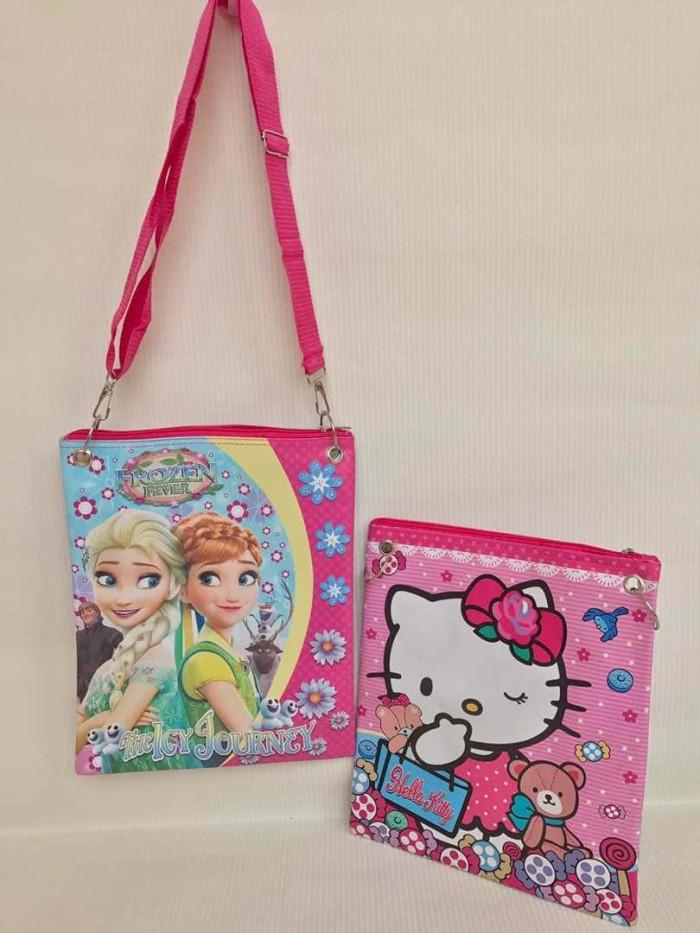 harga Frozen kitty tsum pony tas selempang/les/goodie bag/sekolah/jalanjalan Tokopedia.com