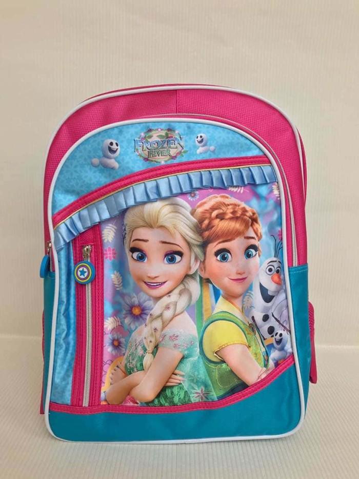 harga Frozen tas punggung/ransel/les/goodie bag/sekolah paud tk sd/hadiah Tokopedia.com