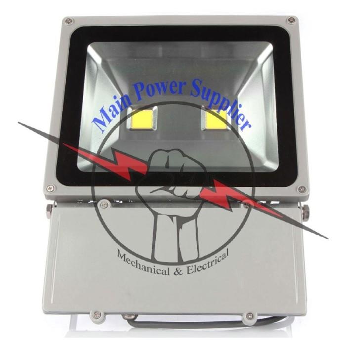 harga Lampu sorot led spotlight floodlight outdoor waterproof 100watt Tokopedia.com