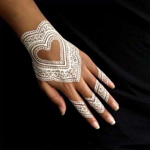 Jual White Henna Putih Body Painting Waterproof Henna Golecha