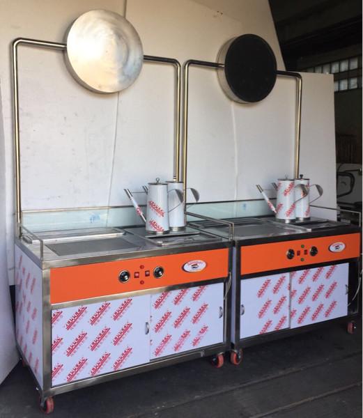 harga Gerobak/ booth stainless steel meja usaha minuman thai tea Tokopedia.com