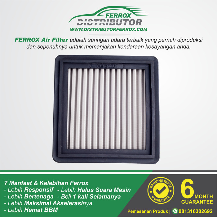 Filter udara ferrox new jazz