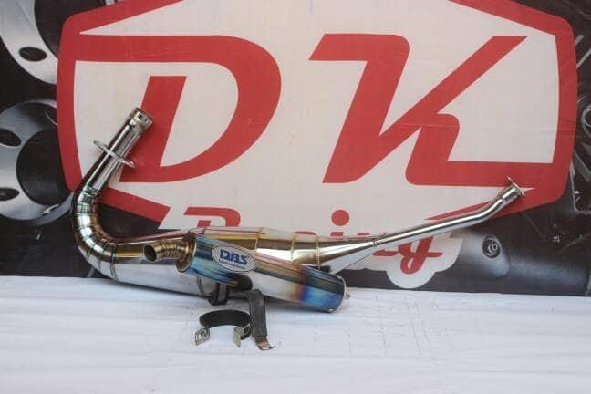 harga Knalpot racing ninja r dan rr dbs thailand crome pelangi high peforma Tokopedia.com
