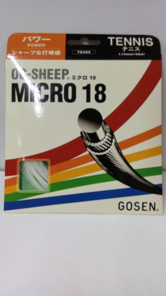 harga Senar tenis gosen micro 18 original sale!! Tokopedia.com