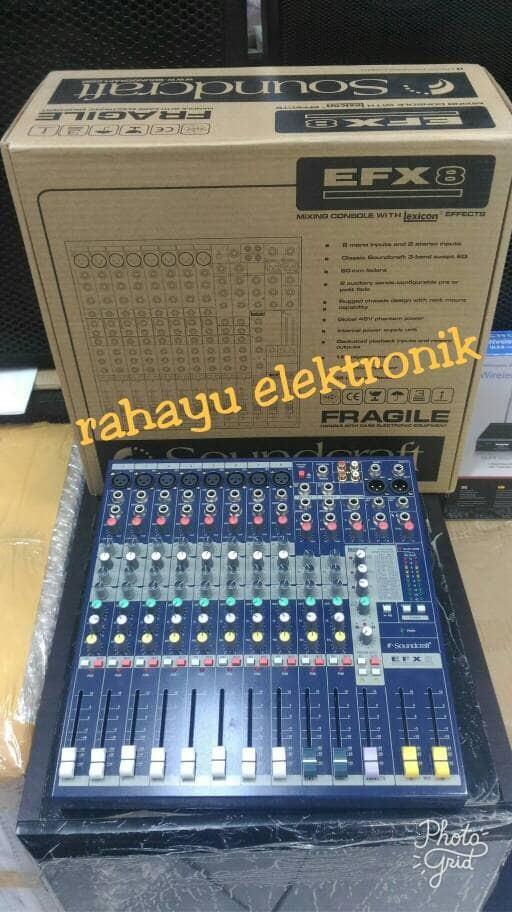 harga Murah mixer soundcraft efx 8 ( 8 chanel) Tokopedia.com