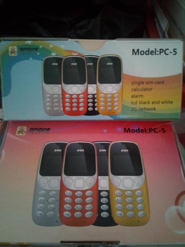 harga Hp baru prince pc5 pc-5 monokrom 1sim lcd black white 2g md nokia 3310 Tokopedia.com