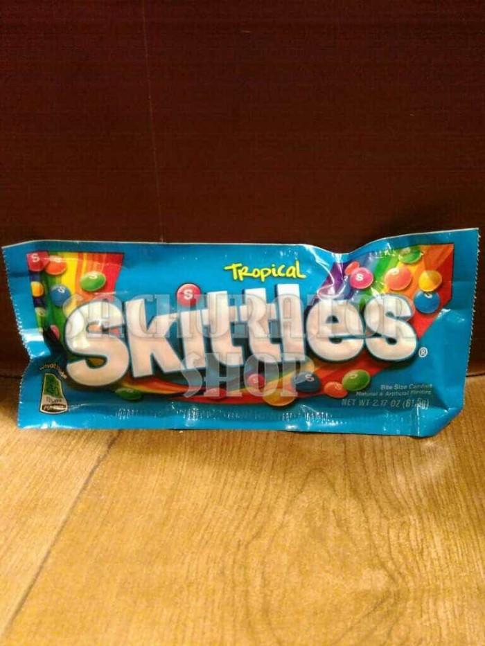 harga Permen skittles skittle rasa buah tropical candy 615 gr Tokopedia.com