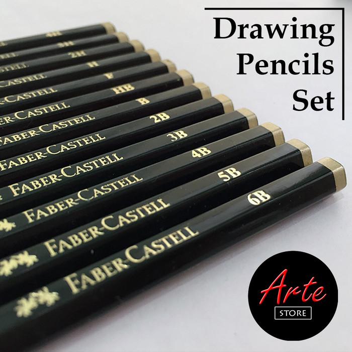 Foto Produk Pensil Gambar Set isi 12pcs dari ARTE STORE