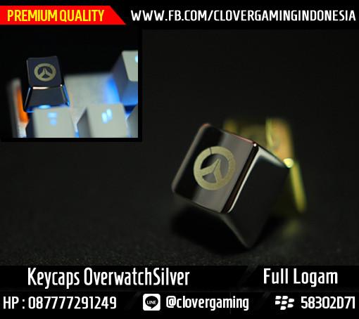 harga Keycaps overwatch logam silver || keyboard mechanical genji gaming Tokopedia.com