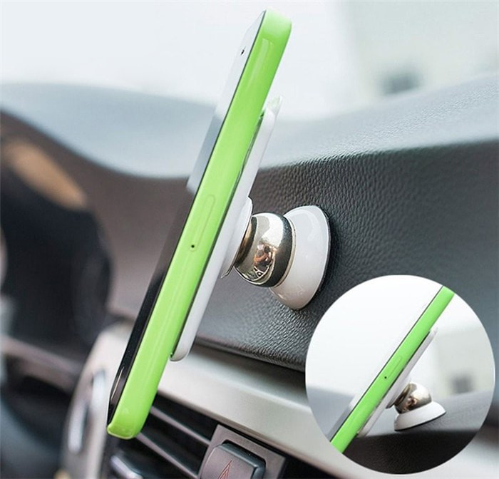 Foto Produk Car Holder / Mount Putar Magnetik | Rotary 360 Magnetic Holder Mobil - RANDOM-ROTARY dari I-Tech Accessories HP