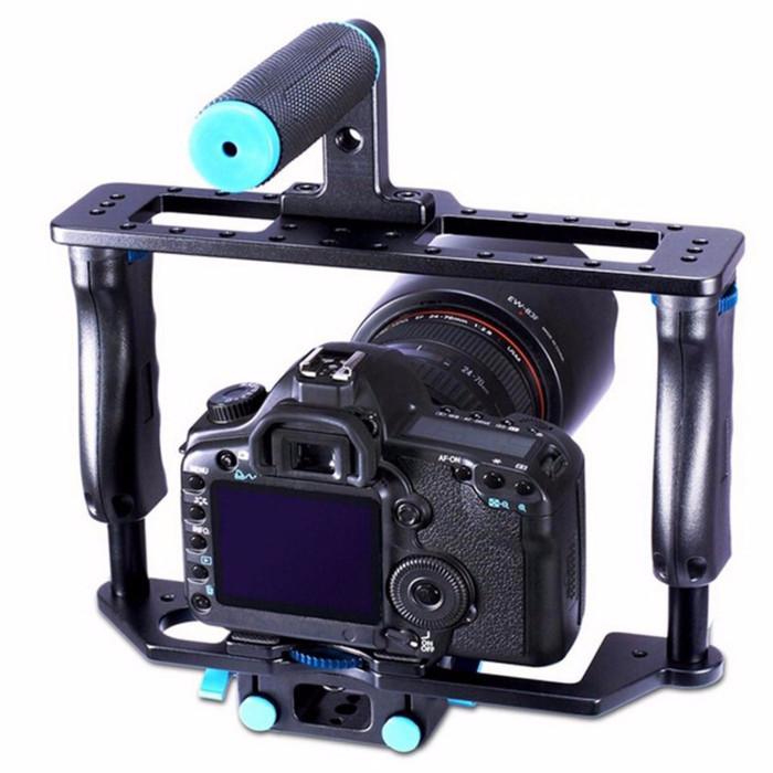 harga Tongsis monopod gimbal rig stabilizer kamera dslr 15mm rod termurah Tokopedia.com