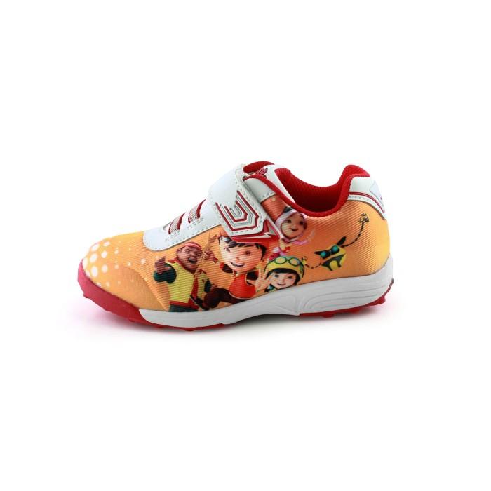 Ardiles sepatu anak bbb-abstract - putih merah orange - 25 merah