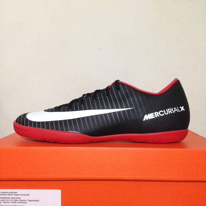 low priced 347c7 61a9e ... coupon code for sepatu futsal nike mercurial x victory vi ic black red  831966 002 ori