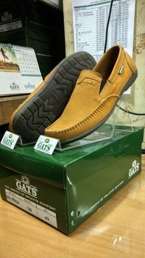 harga Sepatu casual pria terbaru gats original murah berkualitas hk 0002 tan Tokopedia.com