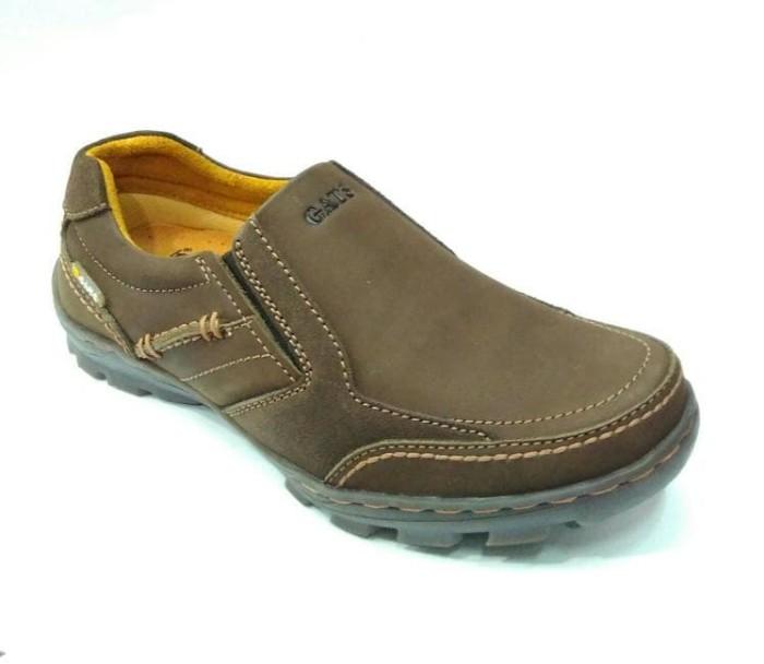 harga Sepatu pria santai terbaru gats ori murah berkualitas to 2206 brown Tokopedia.com