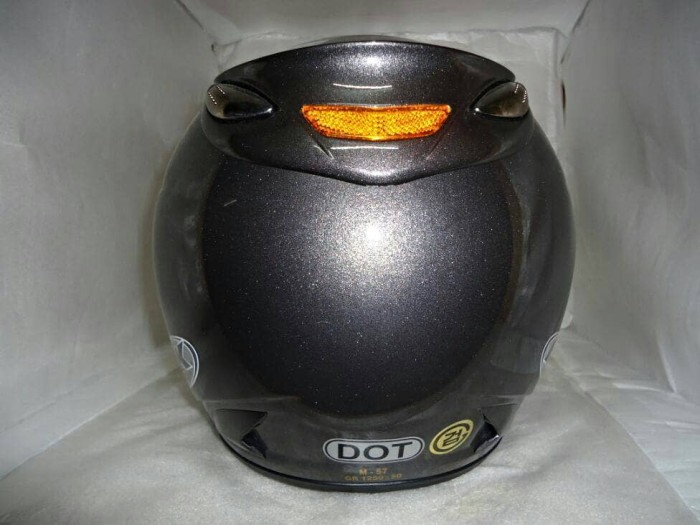 SALE HELM INK CENTRO JET SOLID GUN METAL ABU ABU TUA 100% ORIGINAL 2