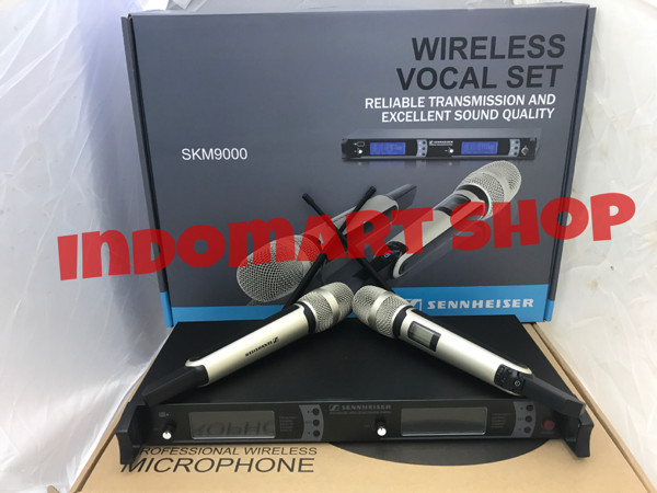 harga Mic wireless sennheiser skm9000 Tokopedia.com