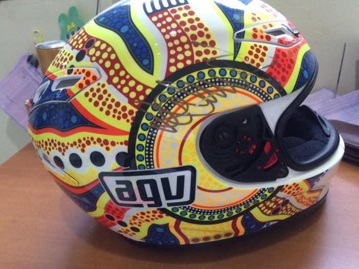 Helm AGV gp tech Valentino Rossi RARE 4