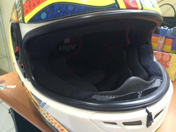 Helm AGV gp tech Valentino Rossi RARE 3