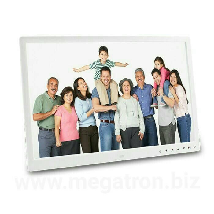 harga Bingkai foto / digital photo frame 17 inch (photo/video/musik) Tokopedia.com